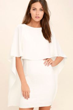 lulus.com, $54, Style: Best Is Yet To Come White Backless Dress