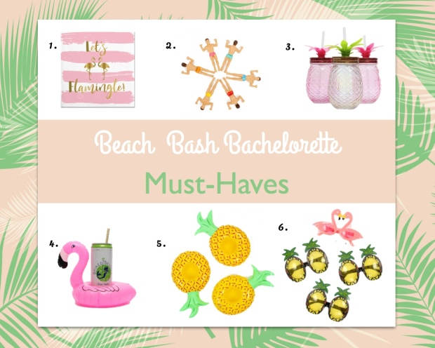 Beach Bash Must haves