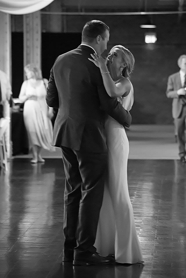 robby and kelly longworth hall first dance