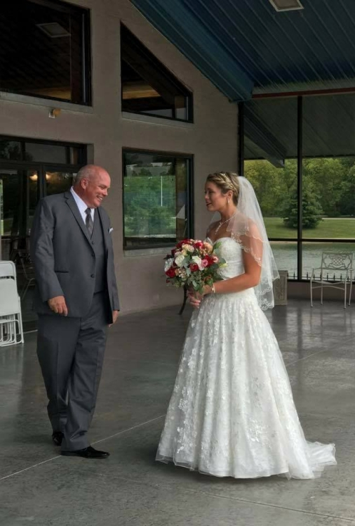 A Bride and Her Data | Silver Wing Alterations | Vendor Spotlight