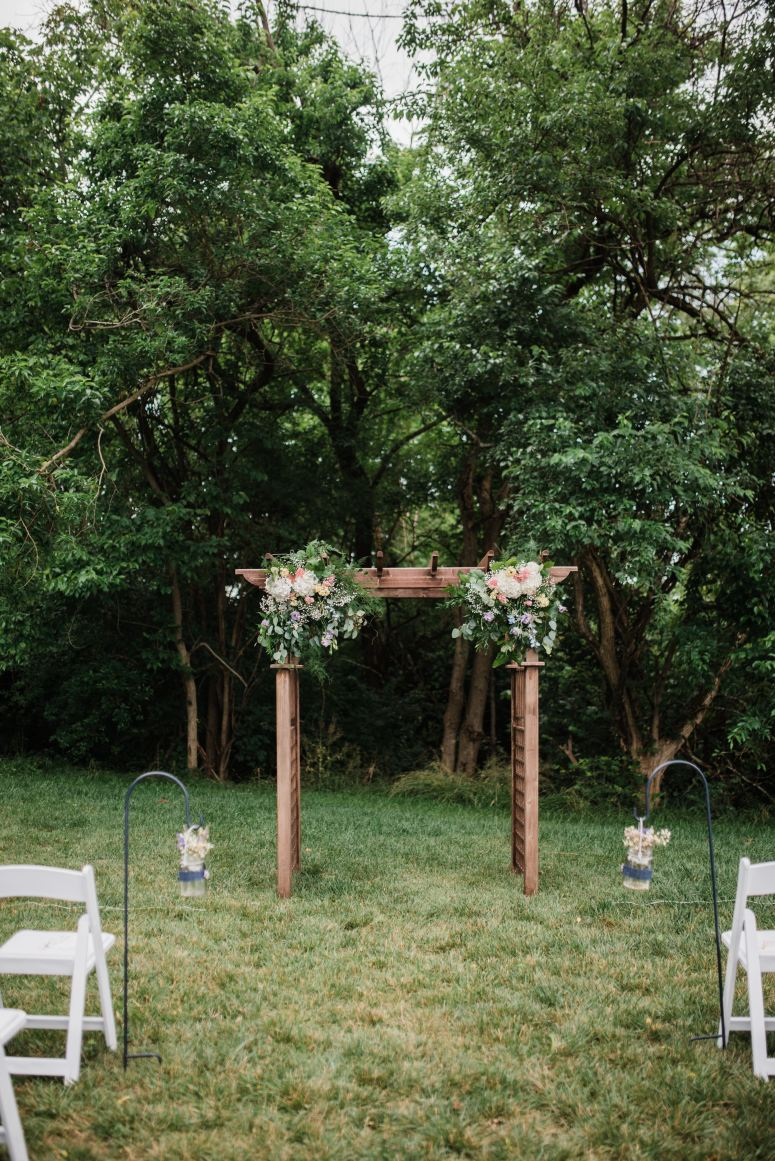 Rachel & Nate | Vintage Boho Wedding | BridalGush.com