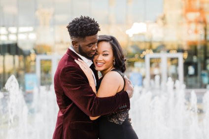 Highschool Sweethearts Show Their Love In This Cincinnati Engagement Session   BridalGush.com