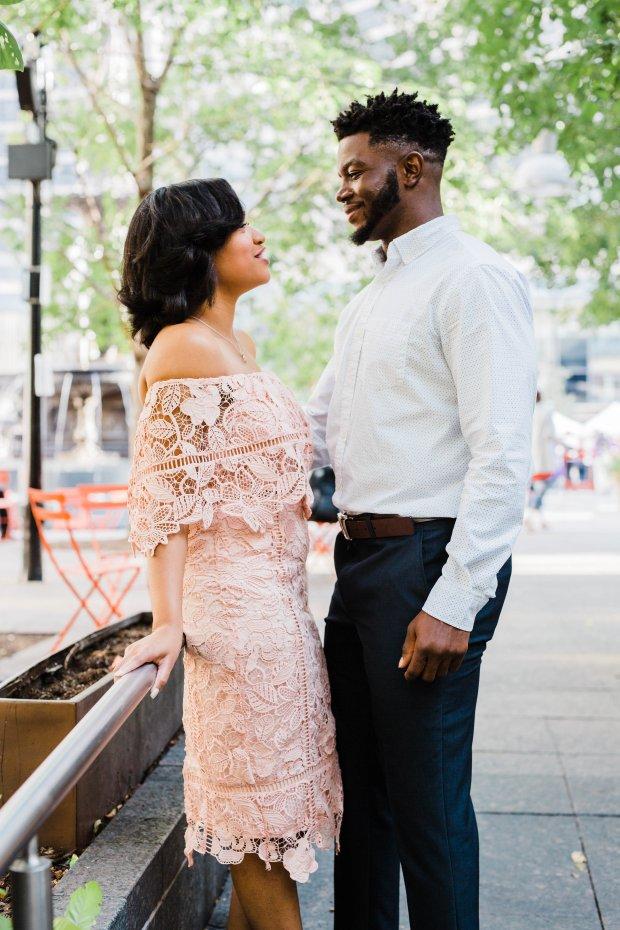 Highschool Sweethearts Show Their Love In This Cincinnati Engagement Session | BridalGush.com
