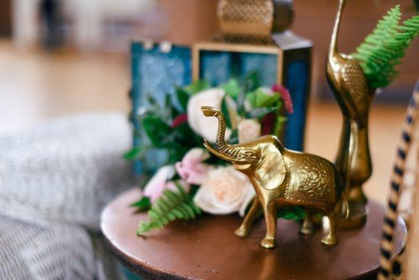 10 Fall Wedding Trends | Figurine Centerpieces | BridalGush.com