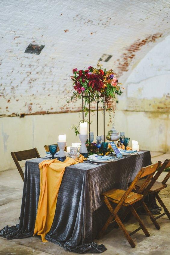 10 Fall Wedding Trends | Velvet Wedding Decor | BridalGush.com