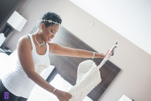 Married Black and Carefree | Carefree Black Brides | BridalGush.com