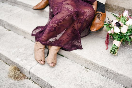 10 Fall Wedding Trends | Non Traditional Dresses