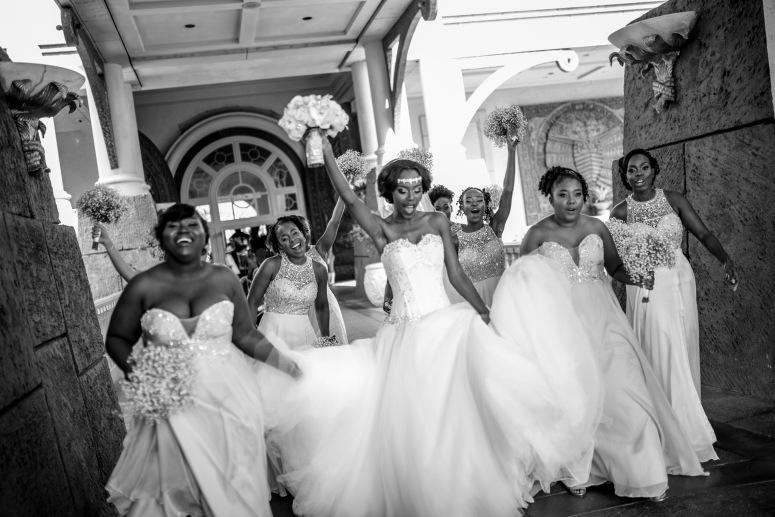 Married Black and Carefree | Carefree Black Brides | BridalGush.com